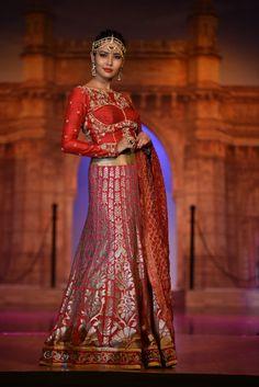 Shilpa Chaurasia creates fairytale bridal wear outfits