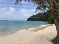 The serenity of the beach at Cape Panwa hotel - photo courtesy of Facebook and Nadine Weinstock