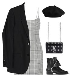 """""""Sans titre #2232"""" by frenchystyle ❤ liked on Polyvore featuring Alexander Wang, Michael Kors, Helmut Lang and Yves Saint Laurent"""