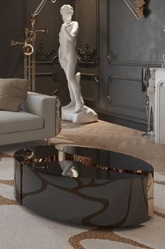 Discover the best interior design ideas to apply in your living room! #bocadolobo #luxurydesign #luxuryfurniture #contemporarydesign #interiordesign #designideas Luxury Furniture, Luxury Interior Design, Entryway Tables, Daily Day, Elegant, Expensive Houses, Luxury Living, Contemporary Design, Luxury Homes