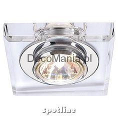 Lampa wewnętrzna - Spotline - Crystal I downlight, MR16 | DecoMania.pl