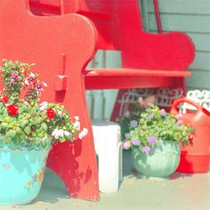 Shabby Chic Home Decor  Summer Porch Photograph by alicebgardens, $25.00