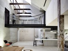Completed in 2015 in Fitzroy, Australia. Images by  Derek Swalwell           . Fitzroy Loft is located inside the 125 years old MacRobertson Chocolate Factory in Fitzroy, adapted for mostly residential use in the early 90s. With...
