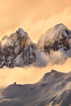 On the world's edge, Swiss Alps, by Martin Stantchev, on 500px.