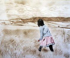 Innovative Artist Creates Beautiful Dust Paintings | Cuded