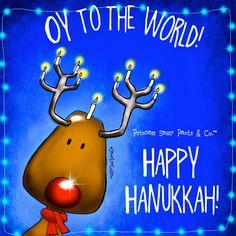 Princess Sassy Pants & Co. Hanukkah Greeting, Feliz Hanukkah, Happy Hanukkah, Hannukah, Kwanzaa, Christmas Adam, Christmas Hanukkah, Christmas Ornaments, Holiday Parties