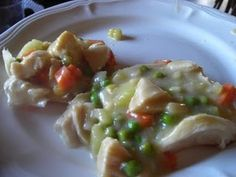 Freezer Meals For Us: chicken pot pie