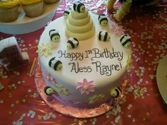 First BEE-day party theme!