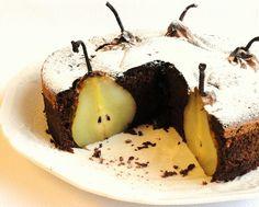 Thermomix Brasil: Bolo de chocolate, gengibre e pera