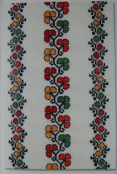 Cross Stitch Bookmarks, Cross Stitch Art, Cross Stitch Borders, Cross Stitch Flowers, Cross Stitch Embroidery, Hand Embroidery, Embroidery Designs, Cross Designs, Cross Stitch Designs