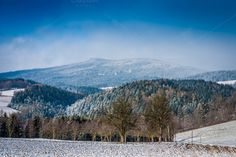 Check out Winter Landscape by ChristianThür Photography on Creative Market Start Of Winter, Winter Landscape, Christian, Mountains, Creative, Pictures, Crafts, Photography, Travel