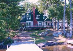 Lake Muskoka: Isle of Skye. Stunning historic family compound near Port Carling, Ontario.