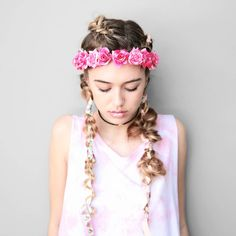 Shop all of our sale hair accessories & apparel. Head Wrap Headband, Headband Hairstyles, Head Wraps, Girly, Hair Accessories, Comfy, Hair Bands, Polyvore, Cute