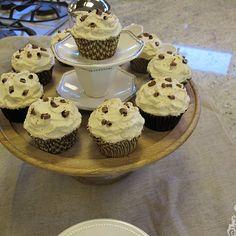 Tiramisu cupcakes General Mills made for Martha's visit.