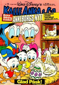 Cover for Kalle Anka & C:o (Hemmets Journal, 1957 series) #16/1984