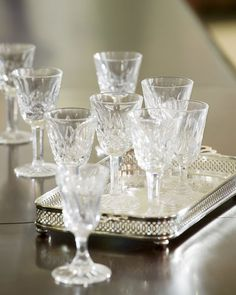 How to Keep Your Crystal Glassware Gleaming  - HouseBeautiful.com