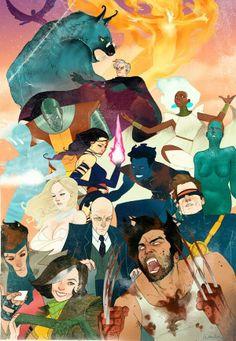 X-men by Kevin Wada