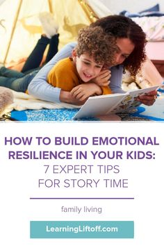 Emotional resilience is more important now than ever. Try these expert tips with book suggestions to help your kids manage their emotions.