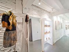 Reforma de local para taller y galería de moda Tissue by Maria Cle Leal Zelaia arquitectura+paisaje