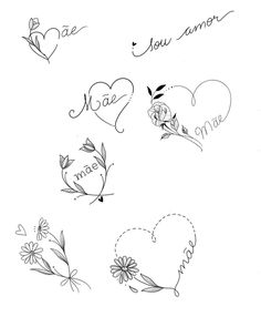 Little Tattoos, Mini Tattoos, Flower Tattoos, Body Art Tattoos, Small Tattoos, Sleeve Tattoos, Tatoos, Aquarell Tattoo, Doodle Art Drawing