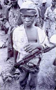 Horrific crimes committed against children - Uganda, Africa - Children were forced to fight in the Lord's Resistance Army (LRA).
