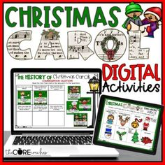 Winter Holidays Archives - The Core Coaches Christmas Carols Songs, Christmas Ad, Carol Songs, Interactive Read Aloud, Cool Science Experiments, Math Practices, Christmas Activities, Writing Activities, Classroom