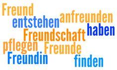 """Germans can't """"make"""" friends — Freundschaften entstehen - vocabulary on the theme of friendships. (Marathon Sprachen Blog)"""