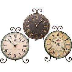 Maison Table Clocks.
