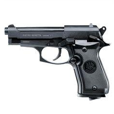 Pistola de Pressão CO2 Beretta 84FS Cal.4,5mm Esta replica da pistola Beretta Mod.84 FS tem todas as qualidades especiais do modelo original: encaixa bem na mão e é de fácil manuseio. A robusta pistola toda em metal, possui um magazine removível com uma capacidade para 17 esferas de aço (steel BB) no cal. 4.5 mm e uma cápsula de 12 g de CO2. A trava do slide e a alavanca de segurança proporciona um manuseio realístico e próprio para treinamento. Com sua alta potencia e poderoso efeito…