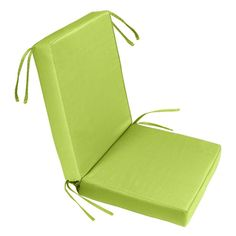 Cushion Source 22 in. Solid Sunbrella Chair Seat and Back Cushion Set - IFA38-5403