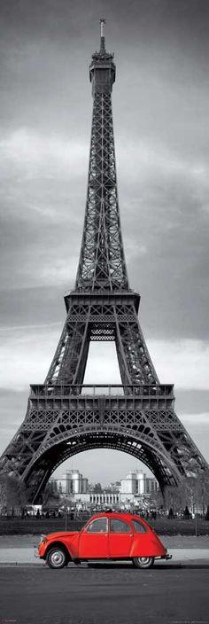 Torre Eiffel e Citroen 2 cv