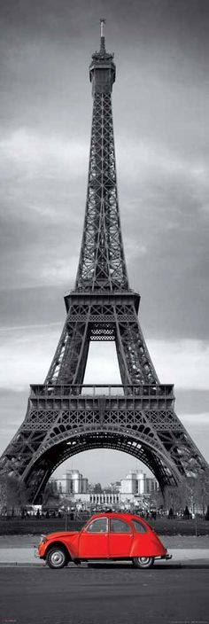Torre Eiffel e Citroen 2 cv Paris Photography, Color Photography, Photography Photos, Beautiful Paris, I Love Paris, Wallpaper Inspiration, Torre Eiffel Paris, France Eiffel Tower, Eiffel Towers