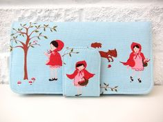 Walk in the Woods wallet by Very Berry Handmade (I have this fabric)