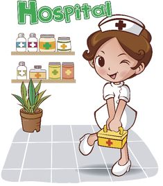 Enfermera trabajando animada - Imagui