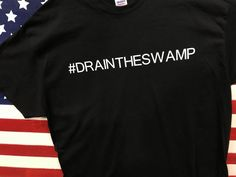 Drain the swamp #DRAINTHESWAMP t shirt Swamp of Crazy NEW S-XXL  | eBay