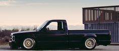 Nice & Low by Arlen Liverman Bagged Trucks, Lowered Trucks, Mini Trucks, Gm Trucks, Cool Trucks, Chevy Trucks, Pickup Trucks, Cool Cars, S10 Truck