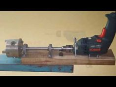 DIY Lathe Mini Lathe Homemade Lathe Machine Mini Wood How to Make a Router Drill Mill CNC 1 - YouTube