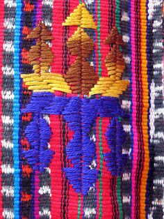 Women- and girlsblouse, detail, Solola, Guatemala, 1990