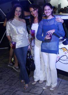 Maira Díaz, Laura Chávez y Laura García.