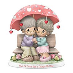 Precious Moments Wedding, Precious Moments Quotes, Precious Moments Figurines, Unique Cake Toppers, Pastel Palette, Strong Love, Cute Images, Little Red, First Love