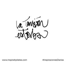 La tensión estorba  #InspirahcionesDiarias por @CandiaRaquel  Inspirah mueve y crea la realidad que deseas vivir en:  http://ift.tt/1LPkaRs
