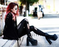 Dark Grunge. Check out this Look Book if you love the 90's Grunge http://lookbook.nu/user/18883-Lua-P/looks