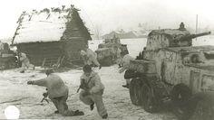 Бой в деревне 1941