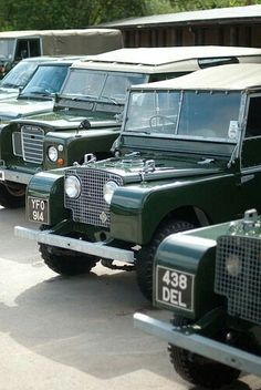Land Rover 88 Series One soft top and 3 Sw Safari. I love it.