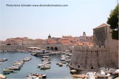Southeast view of the old port Dubrovnik
