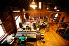 """The Barn"" - Phish's recording studio in Vermont"