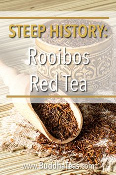 What is rooibos tea? The answer to these questions is in our latest post. Discover rooibos tea, the history, the health benefits, and more. What Is Rooibos Tea, Tea Facts, Tea Blog, Tea Recipes, Teas, Health Benefits, Buddha, Tea Cups, Things To Come