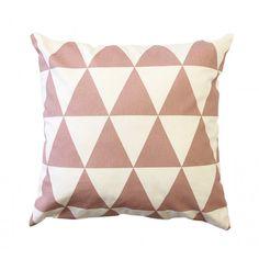 Zana kussenhoes triangle roze