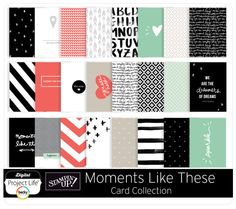 Celebrate the moments of your life with the gorgeous Project Life® by Stampin' Up! Moments Like These Edition. Digital Project Life, Project Life Scrapbook, Life Inspiration, The Dreamers, Stampin Up, Card Making, In This Moment, Crafty, Projects