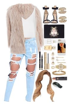 """""""14 October, 2015"""" by jamilah-rochon ❤ liked on Polyvore featuring Hermès, Forever 21, Michael Kors, AX Paris, Topshop, Gianvito Rossi, Givenchy, Chanel, Lana and Lipstick Queen"""